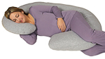 Leachco Snoogle Chic Maternity Pillow